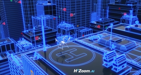 Artificial intelligence meets building inspections for the cities of tomorrow. (Photo: Business Wire)