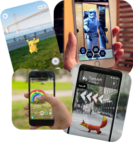 Augmented Reality: User Experiences (Graphic: Business Wire)