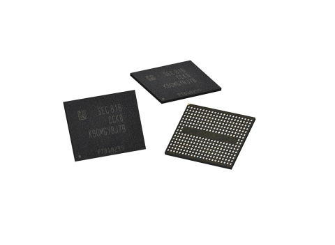 Samsung 5th-Gen V-NAND memory (Photo: Business Wire)