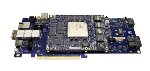 COMXpress PCIe Carrier Board (Photo: REFLEX CES)