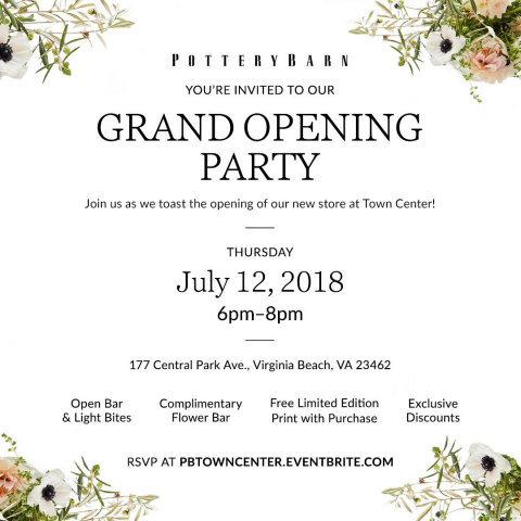 Town Center Grand Opening Invitation (Graphic: Business Wire)