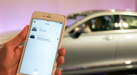 Keyless Car (Photo: Business Wire)