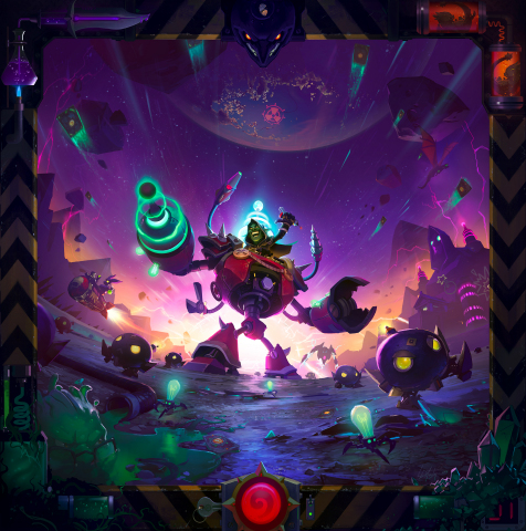 Explore the wonders of science with 135 zany new cards in The Boomsday Project™, the next expansion for Hearthstone®, Blizzard Entertainment's smash-hit digital card game. (Graphic: Business Wire)