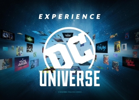 Experience the DC UNIVERSE Like Never Before (Graphic: Business Wire)
