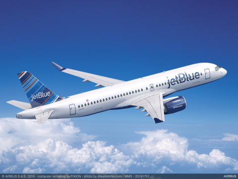 JetBlue A220-300 (Photo: Business Wire)