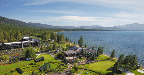 "Lodge at Edgewood Tahoe recognized as ""No. 1 Resort Hotel in the U.S."" in the 2018 Travel + Leisure World's Best Awards in the first year of operation. (Photo: Edgewood Tahoe)"