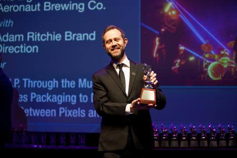 Adam Ritchie at the PRSA Anvil Awards (Photo: Albert Chau)
