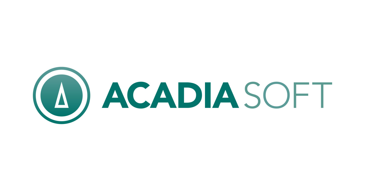Acadiasoft Announces Agreement Manager Business Wire