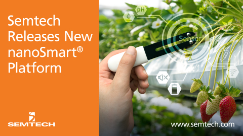 Semtech's new product for nanoSmart (Graphic: Business Wire)