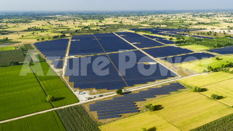 Azure Power Solar Project (Photo: Business Wire)