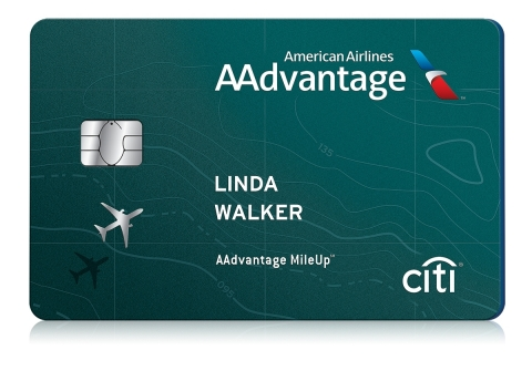Citi and American Airlines are launching the new no-annual-fee AAdvantage MileUp card.