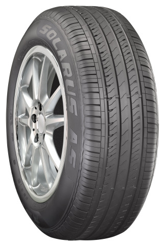 Cooper Tire has added to its Starfire line with the new Starfire Solarus AS, an all-season tire for passenger cars and crossover vehicles. (Photo: Business Wire)