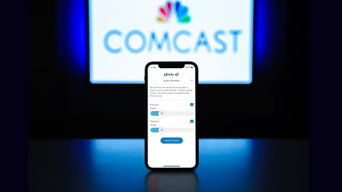 Comcast launches a new home WiFi controls feature -