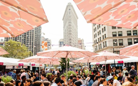 Urbanspace's Mad. Sq. Eats (Photo: Business Wire)