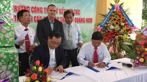 Kraig Labs subsidiary, Prodigy Textiles, signs agreement with local farmers for mulberry needed at i ...