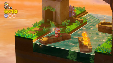 The Captain Toad: Treasure Tracker game will be available for both Nintendo Switch and Nintendo 3DS on July 13. (Photo: Business Wire)