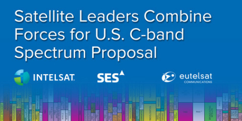 Eutelsat Partners with Intelsat and SES in U.S. C-Band Spectrum Proposal (Graphic: Business Wire)