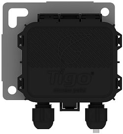 The TAP is Tigo's new wireless device for communication between the Cloud Connect Advanced (CCA) universal data logger and the TS4 units. (Photo: Business Wire)