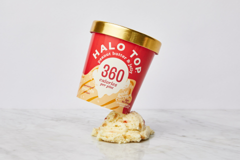 Halo Top Creamery Celebrates National Ice Cream Day by Giving 1,000 Fans Exclusive Early Access to Taste Its Newest Flavor - Peanut Butter & Jelly - Completely FREE (Photo: Business Wire)
