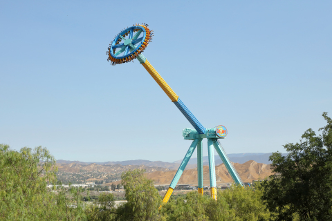 Six Flags Magic Mountain adds another addition to the park's extensive list of record-breaking rides ...