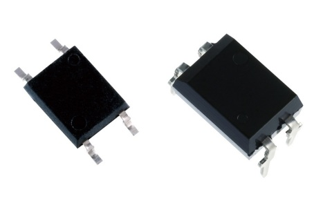 Toshiba: 4pin SO6 (left) and DIP4 (right) packages for photorelays. (Photo: Business Wire)