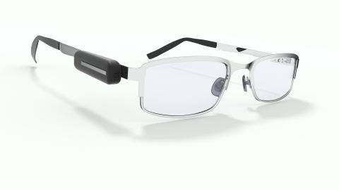 Wearable device to track visual behavior (Dispositif portable pour un suivi du comportement visuel) (Photo: Business Wire)