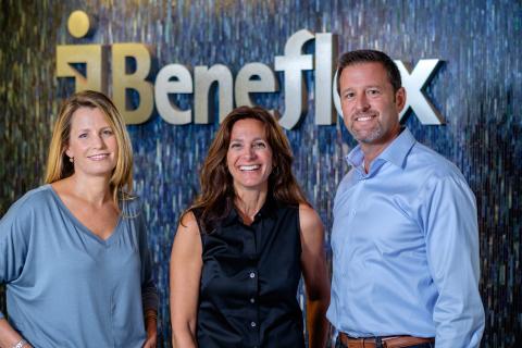 Left to Right: Principal Lesa Caputo; Vice President, Operations Suzanne Robertson; and President, CEO, Principal Dan Cattaneo (Photo: Business Wire)