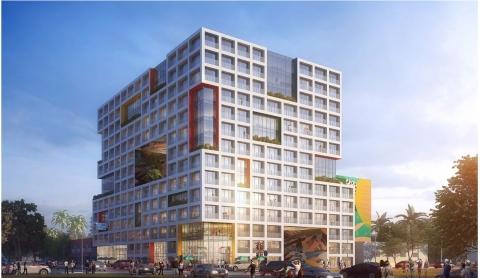 Conceptual rendering drawing of Wynwood Gateway development. (Photo: Metro 1)