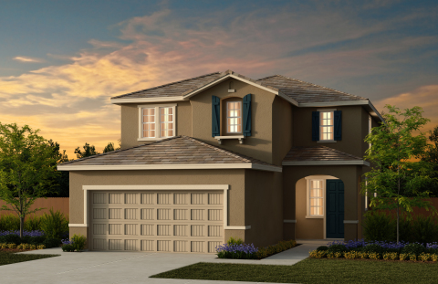 New KB homes are now available in the Modesto area. (Photo: Business Wire)
