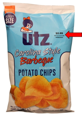 Bag Front (Source: Utz Quality Foods, LLC.)