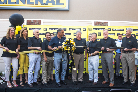 Dollar General celebrates its 15,000th store grand opening in Wilmington, North Carolina on July 14, 2018.(Photo: Business Wire)