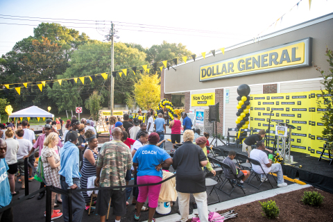 Dollar General celebrates its 15,000th store grand opening in Wilmington, North Carolina on July 14. (Photo: Business Wire)