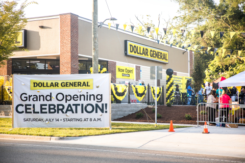 Dollar General celebrates its 15,000th store grand opening in Wilmington, North Carolina on July 14, 2018. (Photo: Business Wire)