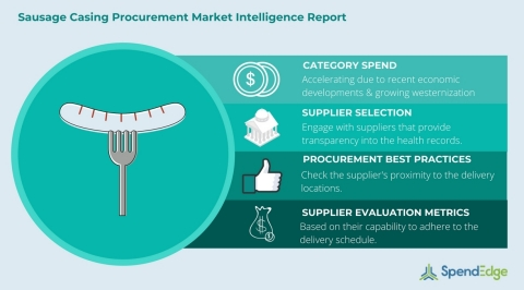 Global Sausage Casing Category - Procurement Market Intelligence Report. (Graphic: Business Wire)