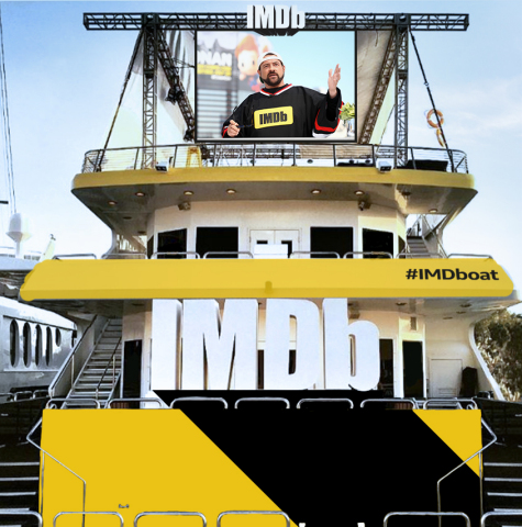 IMDb Returns to San Diego Comic-Con With Host Kevin Smith aboard #IMDboat July 19-21, 2018 (Photo: Getty Images for IMDb)