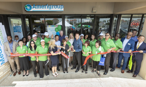 The Amerigroup Medicare Solutions Center recently opened in Houston's International District to deliver a high level of support to consumers who are exploring their Amerigroup Medicare health insurance options. (Photo: Business Wire)