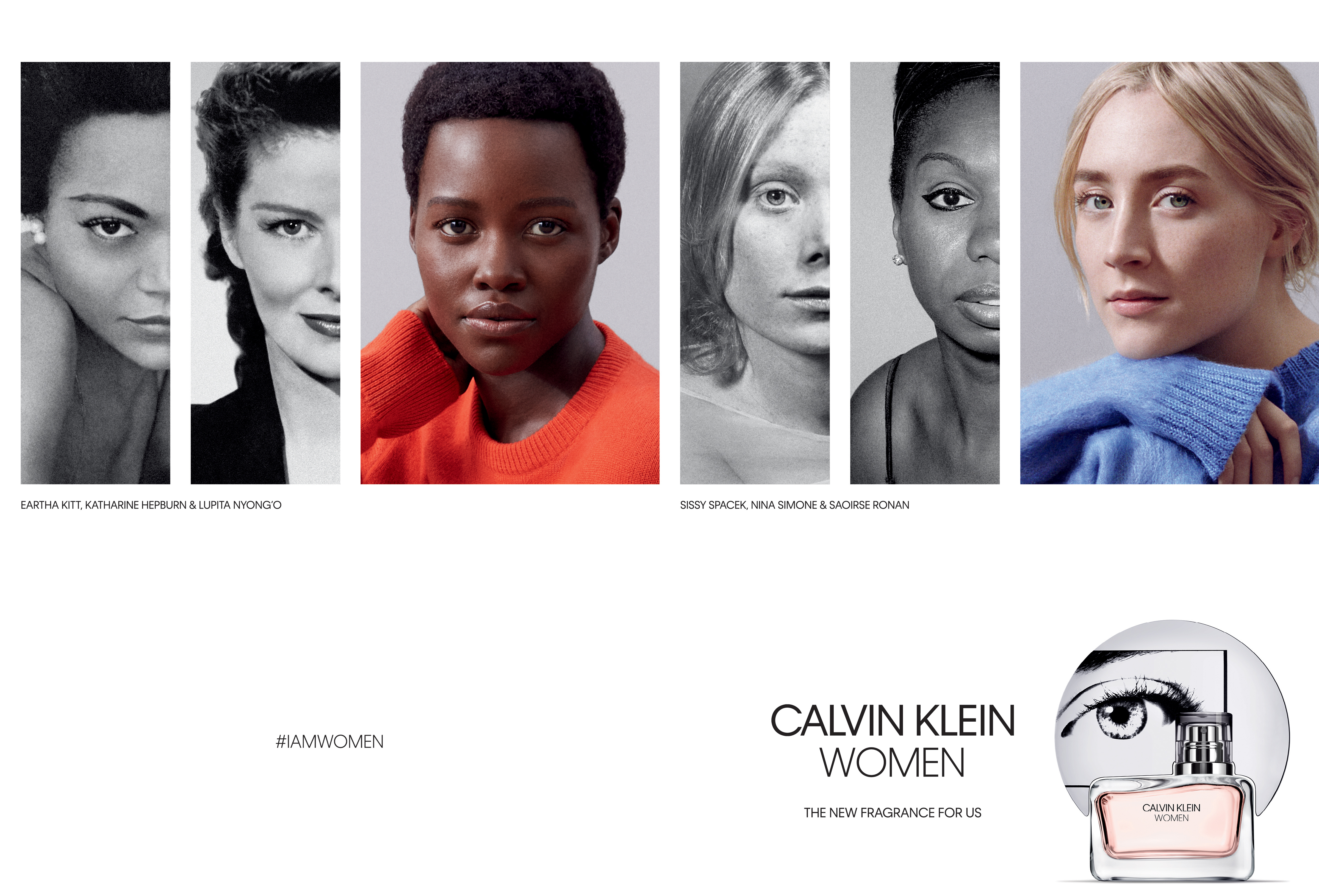9b26008682 CALVIN KLEIN Fragrances Announces Lupita Nyong o and Saoirse Ronan as Faces  of CALVIN KLEIN WOMEN