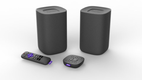 Roku TV Wireless Speakers (Photo: Business Wire)