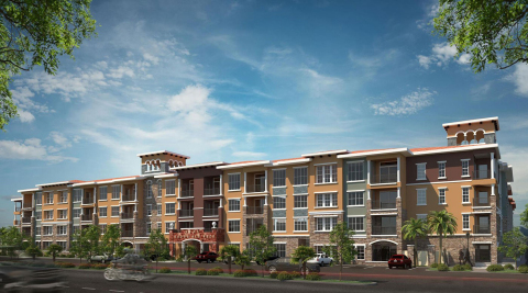 Abode Red Rock Apartments - Transcontinental Realty Investors, Inc.'s Class A development in Las Vegas, Nevada (Photo: Business Wire)