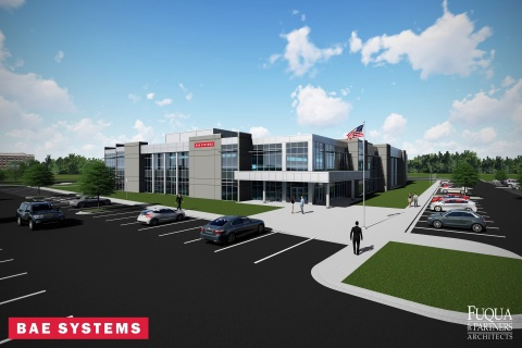 BAE Systems is working with local partners to build a state-of-the-art facility at the Cummings Research Park with 83,000 square feet of engineering development space, manufacturing space, and laboratory space to support the U.S. Department of Defense. (Photo: BAE Systems)