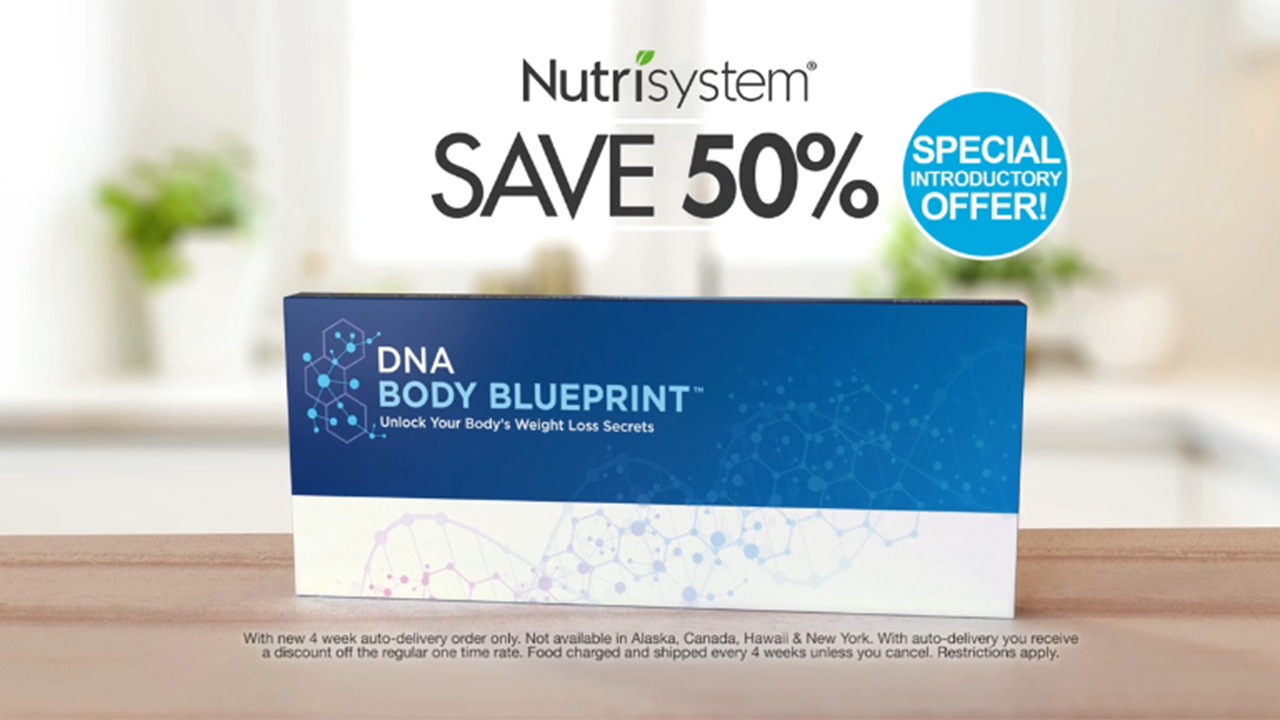 Nutrisystem launches DNA Body Blueprint™ Nationwide. The all new DNA Body Blueprint provides an integrated personal action plan focusing on genetic-based eating behaviors, nutrition and metabolism. DNA Body Blueprint will be prominently featured in national multi-media marketing and advertising campaigns debuting today, July 16.