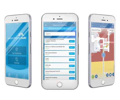 LRH GO mobile app available for download in iTunes or Google Play (Photo: Business Wire)