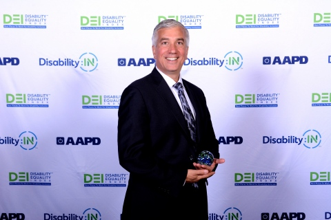 "Aramark was recently named one of the ""Best Places to Work for Disability Inclusion,"" by the 2018 Disability Equality Index (DEI), with a top-score of 100%, for the second year in a row. (Photo: Business Wire)"