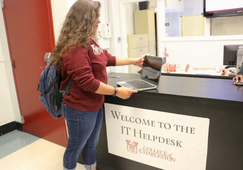 The College of Charleston, is delivering a better mobile experience for students and staff alike with their Aruba Mobile-First Network. (Photo: Business Wire)