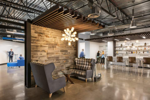 meltmedia's new office by Krause Interior Architecture, Inc. (Photo: Business Wire)
