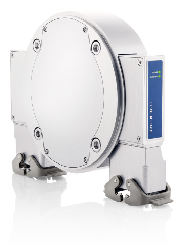 Leine & Linde's new bearingless MRI 2850 encoder for high horsepower electric motor applications using vector control. (Photo: Business Wire)