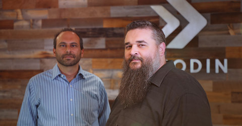 Verodin co-founders Ben Cianciaruso, COO, and Christopher Key, CEO (Photo: Business Wire)