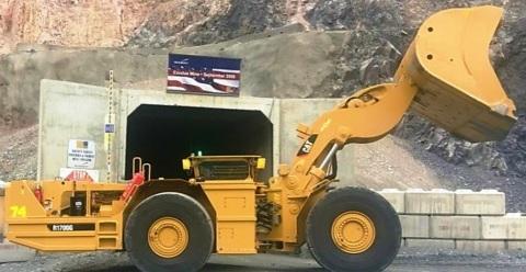Autonomous underground mucker at Newmont's Northwest Exodus operation in Nevada. (Photo: Business Wire)