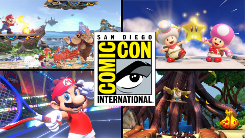Nintendo is headed to this year's San Diego Comic-Con from July 19 to July 22 with many fun Nintendo Switch games, including the upcoming Super Smash Bros. Ultimate game, as well as a host of fun activities perfect for fans of all ages. (Photo: Business Wire)