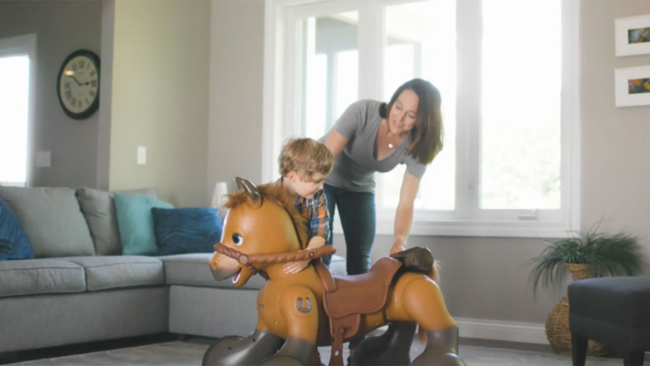 Kid Trax unveils an innovative new play experience for kids with the introduction of Kid Trax Rideamals Scout.